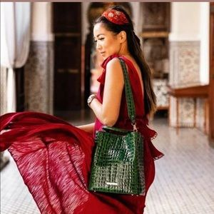 Sold out color BRAHMIN AMELIA EMERALD GREEN
